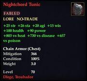 Nightchord Tunic
