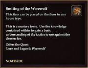 Smiting of the Werewolf