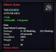Etheric Katar