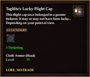Taglfitz's Lucky Flight Cap