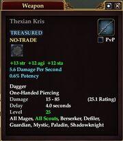 Thexian Kris