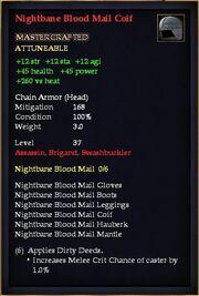 Nightbane Blood Mail Coif