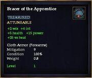 Bracer of the Apprentice