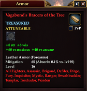 Vagabond's Bracers of the Tree