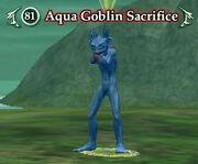 Aqua Goblin Sacrifice