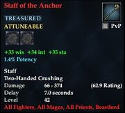 Staff of the Anchor