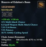 Bracers of Eidolon's Boon