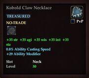 Kobold Claw Necklace