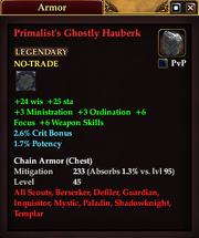 Primalist's Ghostly Hauberk