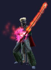 Vukar'ohk, Sword of Legend Equipped