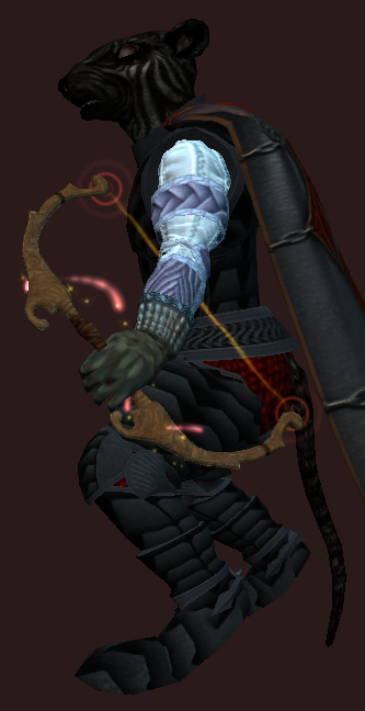 Impressive Bow of the Loving Huntress (Visible)