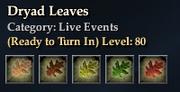 Dryad Leaves