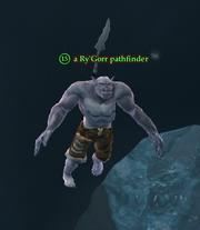 A Ry'Gorr pathfinder