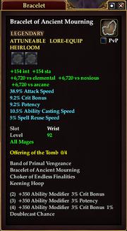 Bracelet of Ancient Mourning