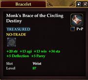 Monk's Brace of the Circling Destiny