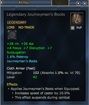 Legendary Journeyman's Boots (cloth)