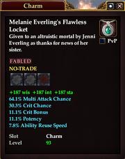 Melanie Everling's Flawless Locket
