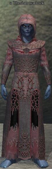 A Thexian warlock