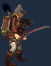 Sword of Courageous Waters (Equipped)