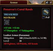 Preserver's Cured Bands