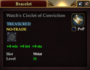 Watch's Circlet of Conviction