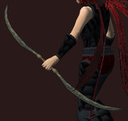 Alder Longbow (Equipped)