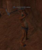 A Sandscrawler miner