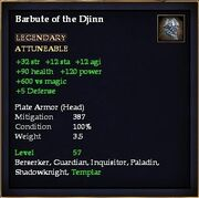 Barbute of the Djinn