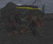 A frenzied undead ulthork