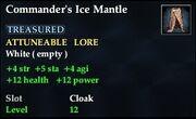 Commander's Ice Mantle