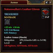 Naturewalker's Leather Gloves