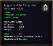 Legplates of the Vanquisher