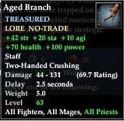 Aged Branch