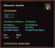 Etherseer's Amulet