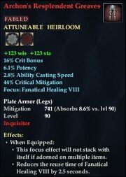 Archon's Resplendent Greaves