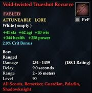 Void-twisted Trueshot Recurve