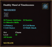 Deathly Wand of Timelessness
