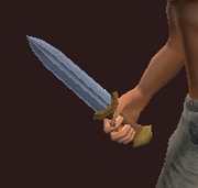 Dwarven Dagger of Cleansing (Equipped)