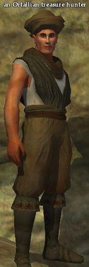 An Ortallian treasure hunter