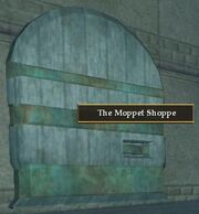 The Moppet Shoppe entrance