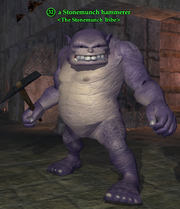 A Stonemunch hammerer