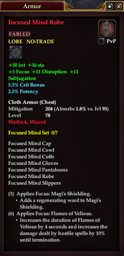 Focused Mind Robe
