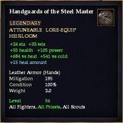 Handguards of the Steel Master