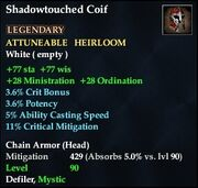 Shadowtouched Coif