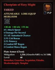 Chestplate of Fiery Might