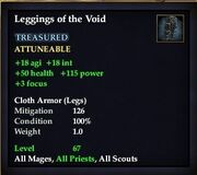 Leggings of the Void
