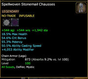 Spellwoven Stonemail Chausses