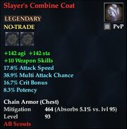 Slayer's Combine Coat