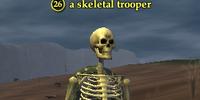 A skeletal trooper
