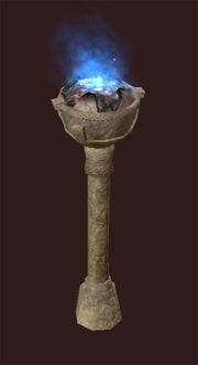 Blue-luminescent-torch